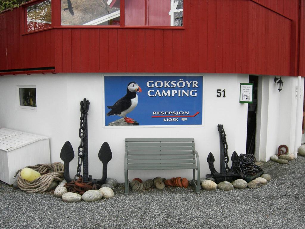 Goksoyr Camping - kystperla.no